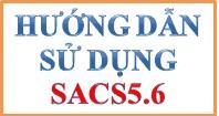 Hướng dẫn sử dụng Sacs 5.6